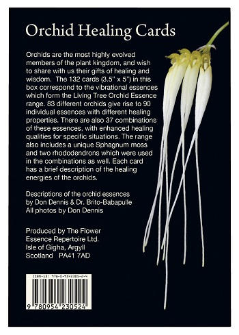 Healing                       Orchid Cards Back